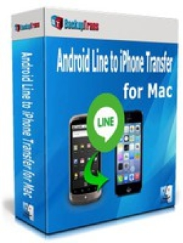 Special Promo Code for Backuptrans Android Line to iPhone Transfer for Mac (Personal Edition)