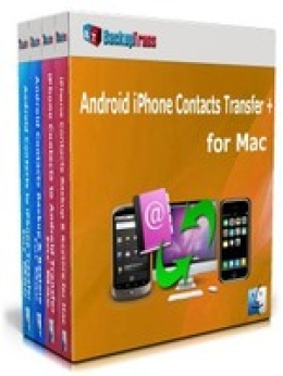 Backuptrans Android iPhone Contacts Transfer + for Mac (Business Edition)