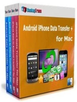 Backuptrans Android iPhone Transfert de données + pour Mac (Family Edition)