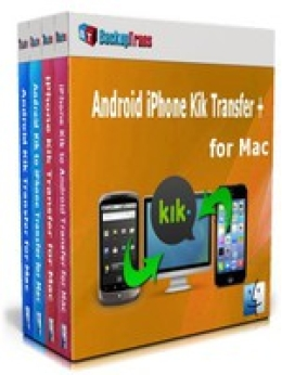 Backuptrans Android iPhone Kik Transfer + for Mac (Business Edition) Promotion Code