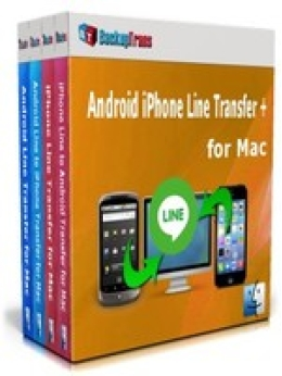Backuptrans Android iPhone Line Transfer + for Mac (Business Edition) Promo