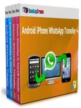 Backuptrans Android iPhone WhatsApp Transfer +(Family Edition)