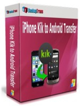 Free Backuptrans iPhone Kik to Android Transfer (Business Edition) Promo code