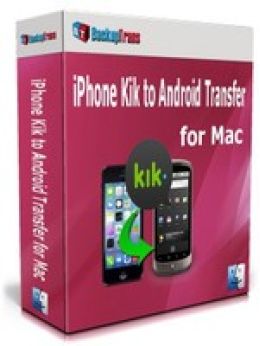 Free Backuptrans iPhone Kik to Android Transfer for Mac (Personal Edition) Discount Promo Code