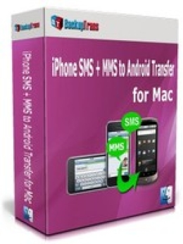 Backuptrans iPhone SMS + MMS to Android Transfer for Mac (Family Edition)