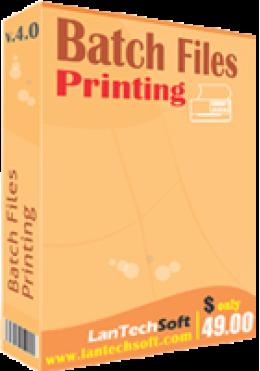 Impresión de archivos por lotes