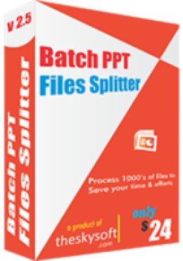 Batch PPT Files Splitter