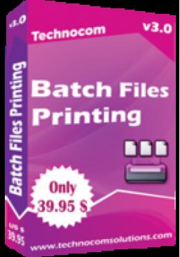 Batch Printing
