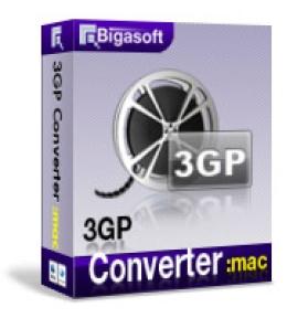 Bigasoft 3GP Converter für Mac