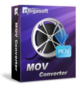 Bigasoft MOV Converter pour Mac