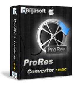 Bigasoft ProRes Converter für Mac