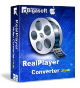 Bigasoft RealPlayer Converter pour Mac