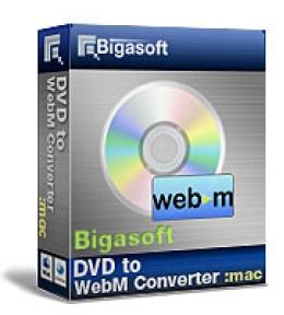 Bigasoft VOB to WebM Converter for Mac OS