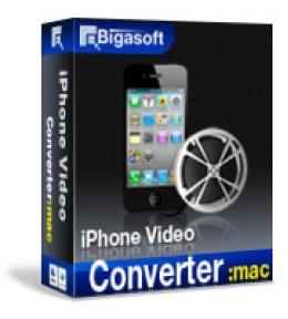Bigasoft iPhone Video Converter for Mac