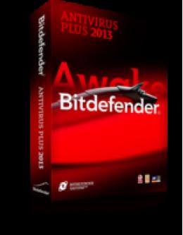 BitDefender Antivirus Plus 2013 1-PC 1-Année
