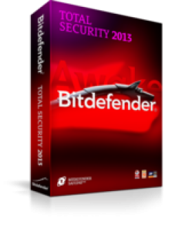 BitDefender Total Security 2013 1-PC 3 Years