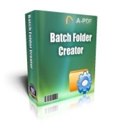 Boxoft Batch Folder Creator