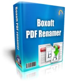 Boxoft PDF Renamer