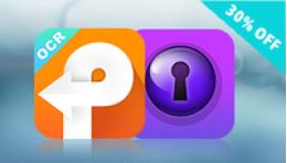 Cisdem PDFConverterOCR and PDFPasswordRemover Bundle for Mac