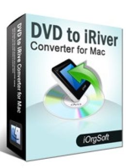 DVD to iRiver Converter for Mac