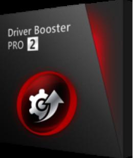 Driver Booster 2 PRO (3PC avec sac cadeau)