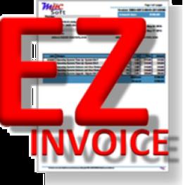 EZ web Invoicer Standar Ausgabe
