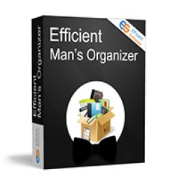 Effiziente Mans / Ladys Organizer Lizenz auf Lebenszeit