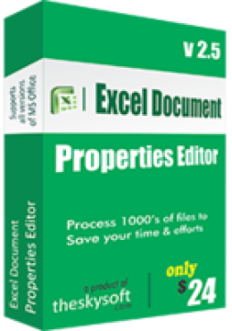 Editor de propiedades de documento de Excel