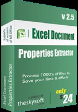 Extractor de propiedades de documento de Excel