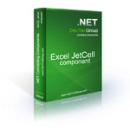Excel Jetcell .NET - Developer License PRO