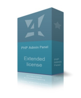 Extended PHP Admin Panel