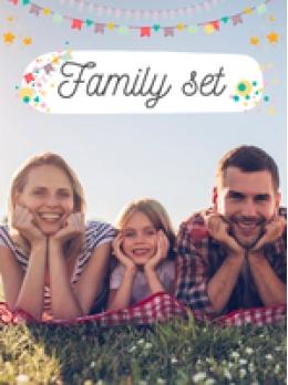 15% Family Set Coupon code