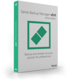 Genie Backup Manager Home 9 - 3 Pack