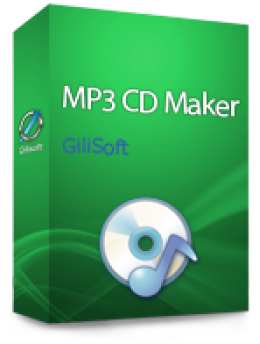 GiliSoft MP3 CD Maker