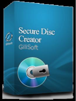 Gilisoft Secure Disc Creator (1 PC)