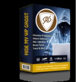 Hide My WP Ghost - 1 Website Promo