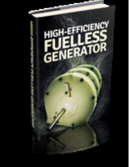High-Efficiency Fuelless Generator