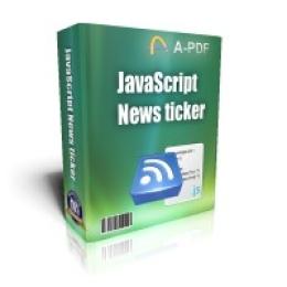 JavaScript News Ticker