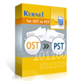 Kernel for OST to PST - Personal License - Promo Code