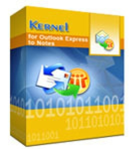 Kernel for Outlook Express to Notes - Corporate License