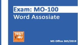 15% Off MO-100 Word Associate Exam - Office 365 & Office 2019 - English version - 25 hours of access Special Promo Code