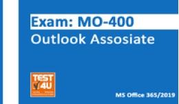 15% MO-400 Esame Outlook Associate - Office 365 e Office 2019 - Versione inglese - 25 ore di accesso Coupon codice promozionale