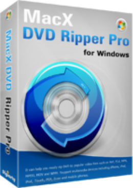 MacX DVD Ripper Pro for Windows (Family License)