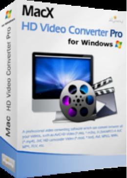 MacX HD Video Converter Pro for Windows (Lifetime License)