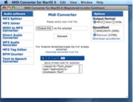 Midi Converter for Mac (Personal License)