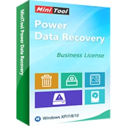 MiniTool Power Data Recovery- Técnico Comercial