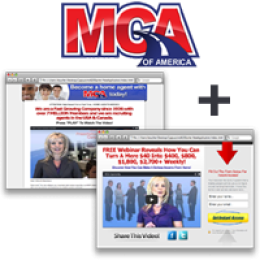 Motor Club of America MCA Opportunity Site + Capture Page (Longer) ~ Monthly Subscription