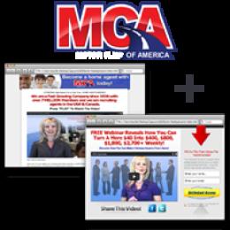 Motor Club of America MCA Gelegenheit Site-+ Capture-Seite (Längerer) ~ Monatsabonnement