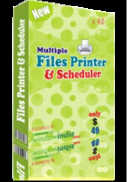Mehrere Dateien Drucker und Scheduler