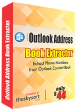 Extracteur de carnet d'adresses Outlook